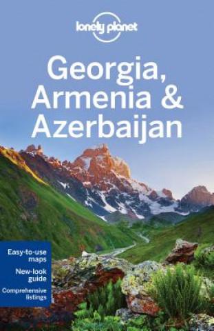Carte Lonely Planet Georgia, Armenia & Azerbaijan Planet Lonely