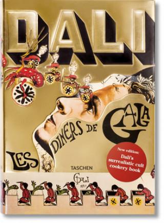 Carte Dali. Les diners de Gala Salvador Dali