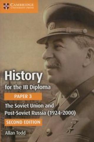 Kniha Soviet Union and Post-Soviet Russia (1924-2000) Allan Todd