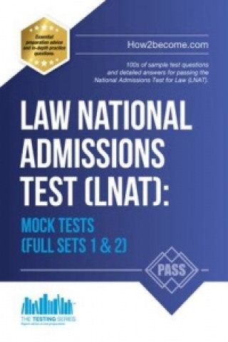 Könyv Law National Admissions Test (LNAT): Mock Tests How2Become