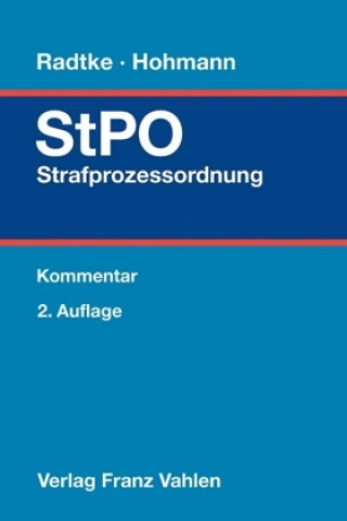 Strafprozessordnung (StPO), Kommentar