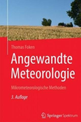 Carte Angewandte Meteorologie Thomas Foken