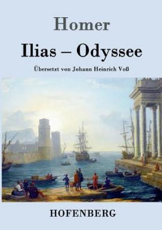 Carte Ilias / Odyssee Homer