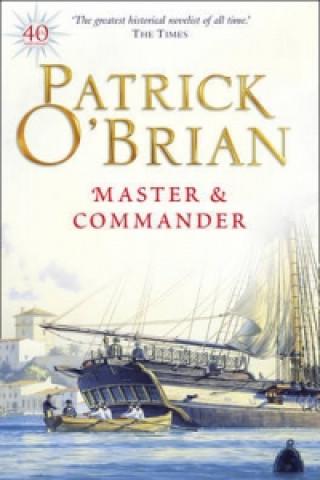 Carte Master and Commander Patrick O´Brian