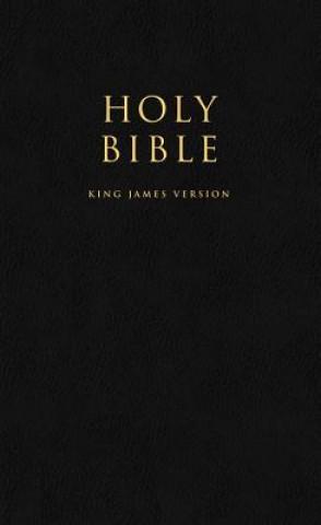 HOLY BIBLE: King James Version (KJV) Popular Gift & Award Black Leatherette Edition