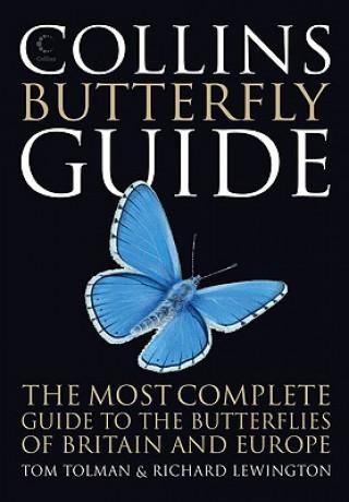 Carte Collins Butterfly Guide Tom Tolman