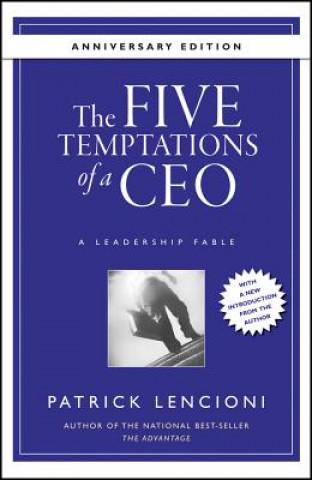 Five Temptations of a CEO