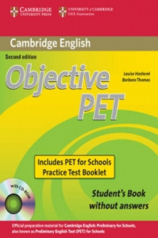 Cambridge University Press Objective PET For Schools Pack without Answers (Student's Bo