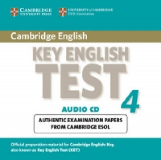 Cambridge Key English Test 4 Audio CD