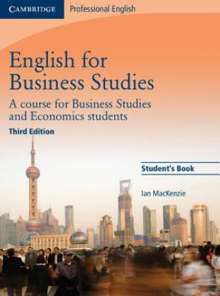 Carte English for Business Studies Student's Book Ian Mackenzie