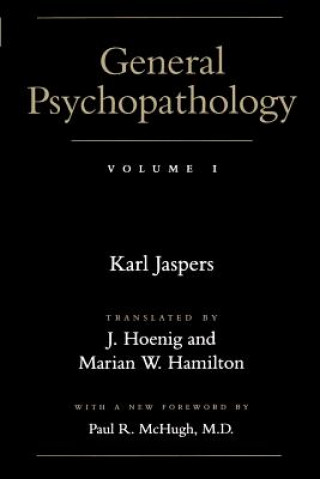 Carte General Psychopathology Karl Jaspers
