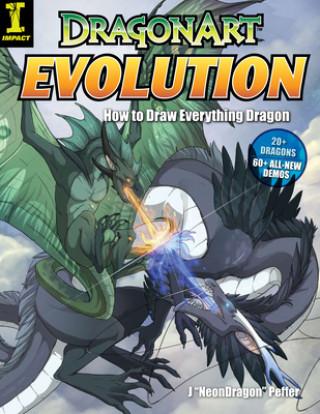 Carte Dragonart Evolution J  Neon Dragon Peffer