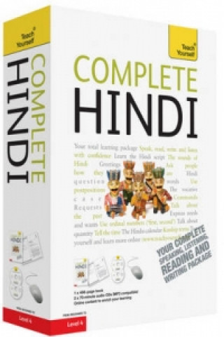 Teach Yourself Books Complete Hindi Beginner to Intermediate Course