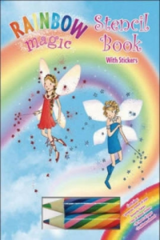 Rainbow Magic Stencil Book