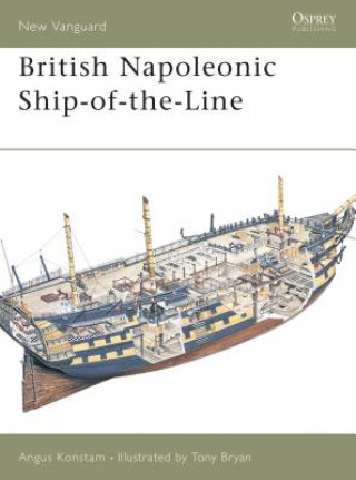 Carte British Napoleonic Ship-of-the-line Angus Konstam