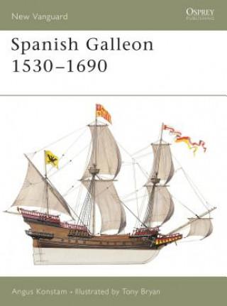 Carte Spanish Galleon Angus Konstam