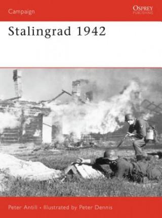 Carte Stalingrad 1942 Peter Antill