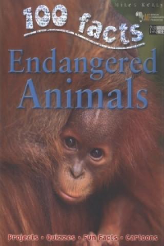 Carte 100 Facts - Endangered Animals Steve Parker