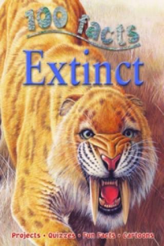 Carte 100 Facts - Extinct Steve Parker