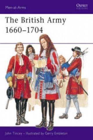 British Army, 1660-1704