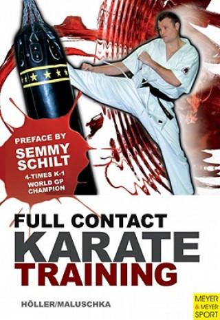 Carte Full Contact Karate Training Jurgen Hoeller
