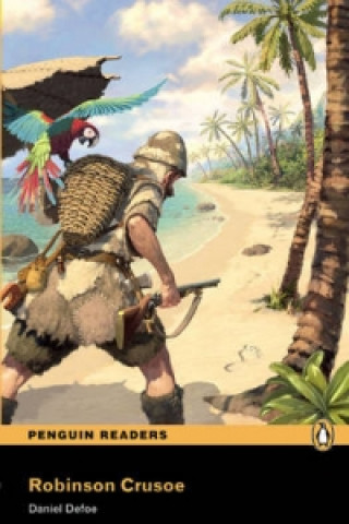 PEARSON Level 2: Robinson Crusoe Book and MP3 Pack