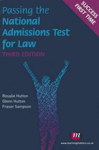 Könyv Passing the National Admissions Test for Law (LNAT) Rosalie Hutton
