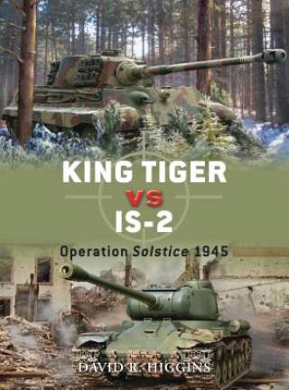 Carte King Tiger vs IS-2 David Higgins