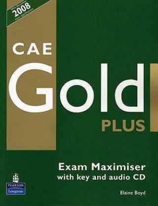 Carte CAE Gold PLus Maximiser and CD with key Pack Elaine Boyd
