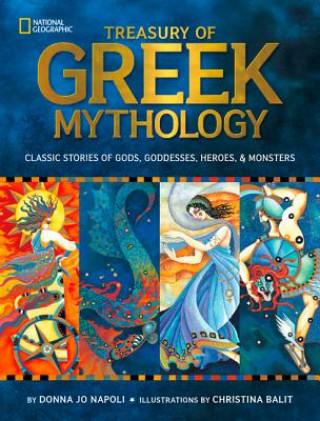 Carte Treasury of Greek Mythology Donna Napoli