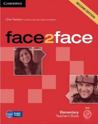 Cambridge University Press face2face Elementary Teacher's Book with DVD