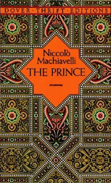 Carte Prince Niccolo Machiavelli