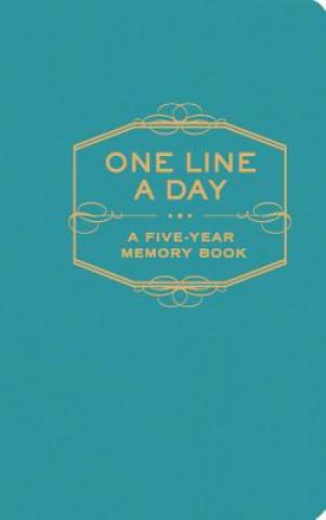 Calendar / Agendă One Line A Day: A Five-Year Memory Book