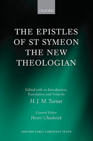 Carte Epistles of St Symeon the New Theologian H.J.M. Turner