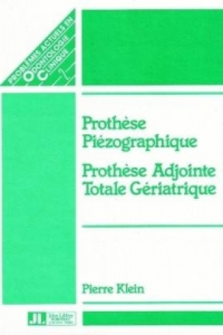 Könyv Piezographic Prothesis Pierre Klein