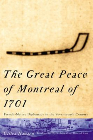 Carte Great Peace of Montreal of 1701 Gilles Havard