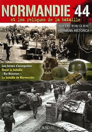 Carte Normandie 1944 Francois de Lannoy