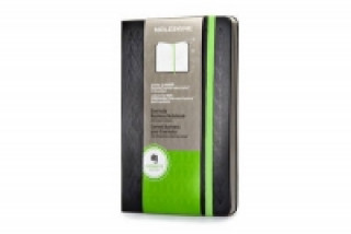 Large Black Hard Evernote Business Notebook