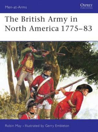 British Army in North America, 1775-83