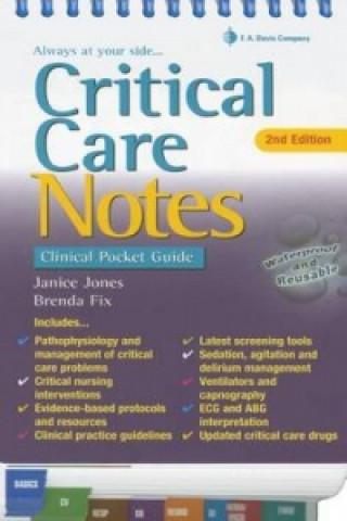 Critical Care Notes 2e