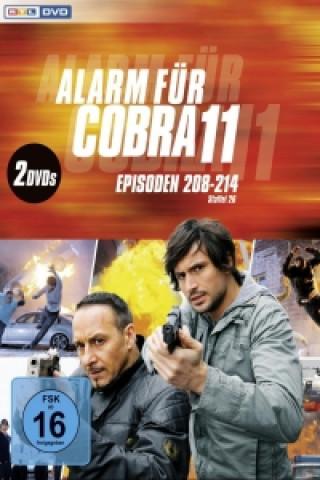 Alarm für Cobra 11. Staffel.26, 2 DVDs
