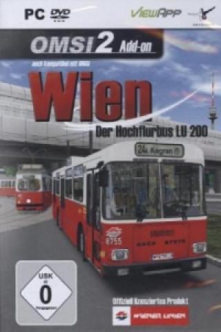 OMSI 2: AddOn Wien - Der Hochflurbus LU 200, DVD-ROM