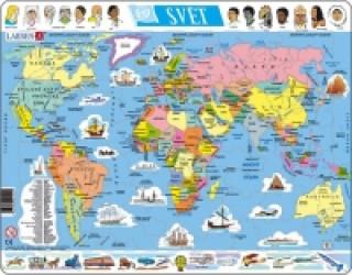 Die Erde (Rahmenpuzzle)