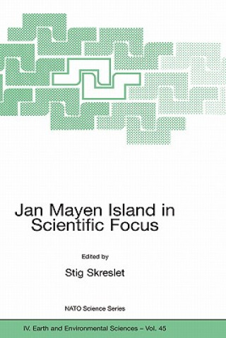 Carte Jan Mayen Island in Scientific Focus Stig Skreslet