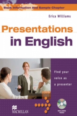 Presentations in English, Student's Book w. DVD