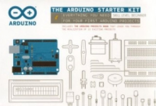 Játék The Arduino Starter Kit, Platine, Bauteile, Handbuch Smart Projects