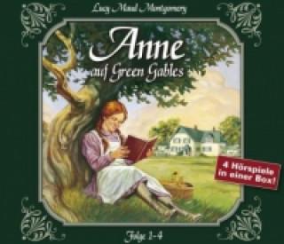 Audio Anne auf Green Gables. Folge.1-4, 4 Audio-CDs L M Montgomery