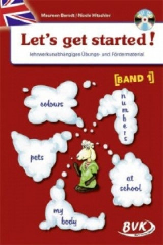 Carte Let's get started, m. Audio-CD. Bd.1 Maureen Berndt
