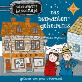 Detektivbüro LasseMaja - Das Diamantengeheimnis, 1 Audio-CD