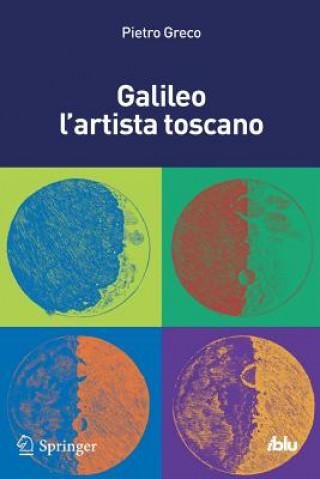 Kniha Galileo l'artista toscano Pietro Greco